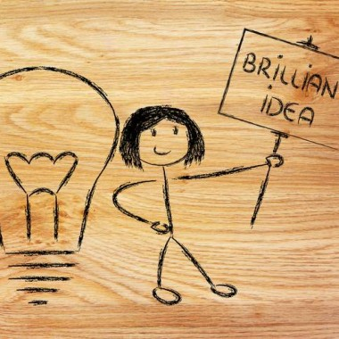 Een idee alleen is niets waard